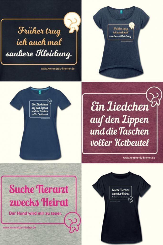 T-Shirts für Hundebesitzer Sprüche
